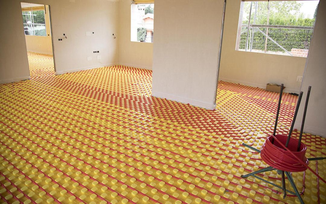 Proyecto Calefacción por suelo radiante