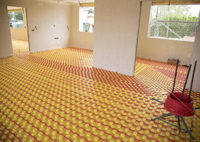 suelo radiante para calefacción