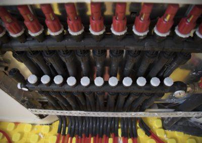 cabezales electrotérmicos suelo radiante